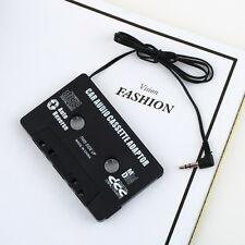 Audio AUX Car Cassette Tape Adapter Converter 3.5 MM for iPhone iPod MP3 CD F5