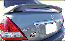 PAINTED REAR WING SPOILER FOR A NISSAN VERSA CUSTOM STYLE 2007-2011