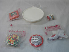 American Girl MY AG SUGAR & SPICE BAKING SET 8 PC PLATE COOKIE SPRINKLES NEW