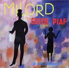 "Vinyle 45T Edith Piaf  ""Milord"""