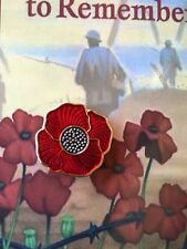 The Red Poppy * Remembrance Day* NEW 2015 *ANZAC Day* On Card