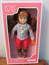 "Our Generation Lori Doll Teagan Equestrian Horse Riding Girl Small 6"" NIB"