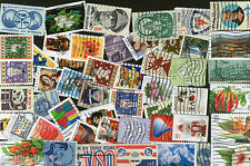 USA 50 Different  Used Stamps on Flower Flora Scinence Animal Medal Love