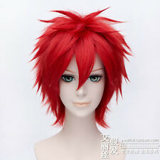 Assassination Classroom Akabane Karma Akashi Seijuro Anime Cosplay Wig +CAP