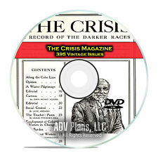 The Crisis Magazine, 395 Issues 1910-1963 Civil Rights Equality Movement DVD D09