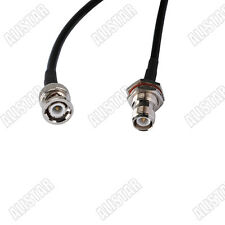 RP-TNC female to BNC male RF pigtail Cable RG58 30cm for Wireless