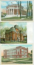 Plattsburgh NY  Collector's Set of 3