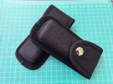 """Black Nylon Sheath Pouch Case Holder For 4.7"""" Folding Pocket Knife NEW Hot Gift"""
