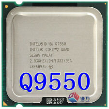 Intel Core 2 Quad Processor Q9550 2.83GHz 1333MHz 12 MB LGA775