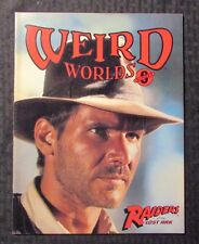 1981 WEIRD WORLDS Magazine #8 VF 8.0 Harrison Ford / Raiders Of The Lost Ark