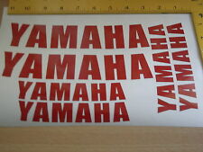 YAMAHA WHEEL STICKERS *REFLECTIVE * Motorcycle/Motorcross l Sticker Decals X4