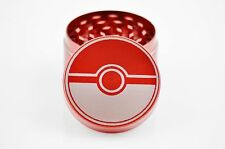 Pokeball Laser Etched 4 Piece Herb Metal Grinder