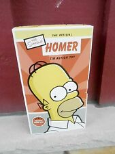 NRFB 2002 Official Homer Simpson Tin Action Toy (S17C)