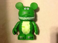 "Rex Dinosaur Toy STORY 1 Disney VINYLMATION 3"" Figure Vinyl WDW Authentic w Card"