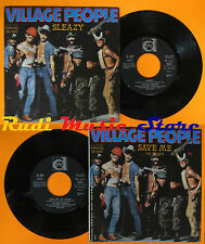 LP 45 7'' VILLAGE PEOPLE Sleazy Save me 1979 italy DURIUM DE. 3096 cd mc dvd(*)