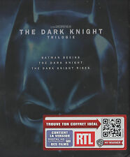 Batman The Dark Knight Trilogy,Limited Digipack Steelbook 5 Blu Ray Box, NEU&OVP