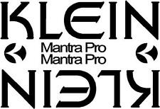 Klein MANTRA PRO Retrò mountain bike frame Adesivi Decalcomanie