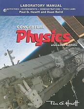 Lab Manual for Conceptual Physics: Activities & Experiments by Hewitt, 11th Ed.