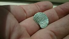 Selling as Unidentified rare? Medieval silver Hammered Coin  0.49g  33