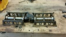 antique early prewar teens bicycle pedals