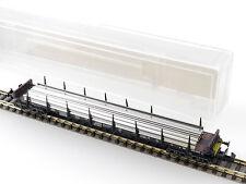 Minitrix 51 3566 00 13566 Schienen-Transportwagen Rungen DB OVP 1601-20-31