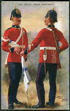 "THE ROYAL IRISH REGIMENT. G&Polden ""Uniforms"" Series #2132. HARRY PAYNE art 1919"