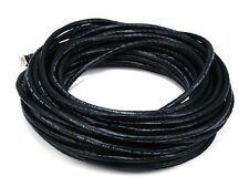 Monoprice 50FT 24AWG Cat6 550MHz UTP Bare Copper Ethernet Network Cable - Black
