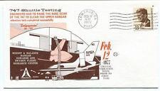 1977 Boeing 747 Shuttle Testing Enterprise OV-101 Edwards AFB NASA Space Driden