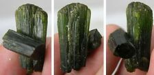 #15 29.35Ct Brazil Natural Terminated Green Tourmaline Crystal Specimen 5.85g
