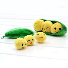 Pois verts Doll Beans en peluche porte-clés Emoji Toy Sac pendentif Keyfi Toys