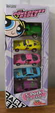 RACING CHAMPIONS Cartoon Network The Powerpuff Girls Five pack die cast 1/64