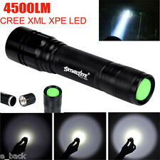 Super Bright 4500 Lumens 3 Modes CREE XML T6 LED 18650 Flashlight Torch Lamp