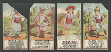 1890s 4 Different MARTIN WENZ FURNITURE DEALER SYRACUSE NY VICTORIAN TRADE CARDS