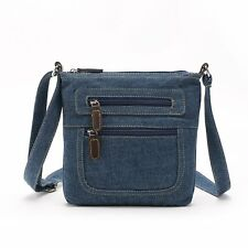 Fashion Women Denim Jeans Crossbody Satchel Shoulder Messenger Bag Purse Handbag