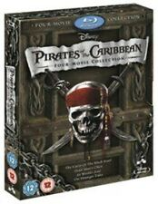 Pirates of the Caribbean 1-4 - Blu-ray Region ABC