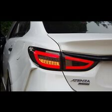 Smoke Type LED Tail Lights Rear Lamp For Mazda 6 Atenza M6 2014~2016+