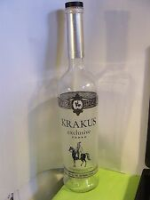 Krakus Exclusive Polish Vodka EMPTY BOTTLE 750 ML