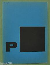 Piet Zwart: Typotekt 1961 Stedelijk Museum catalogue Otto Treumann / Wim Crouwel