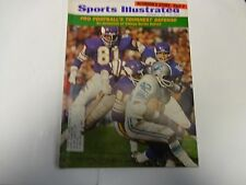 1969 Sports Illustrated Pro Football's Toughest Defense Cover November 3rd