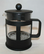 Bodum French Press Glass Coffee Maker 16 oz Clear Black Denmark 16.0 cm Tall