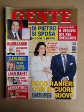 GENTE 51 1994 Gabriella Carlucci Antonio Di Pietro Lino Banfi Lambertucci [D50]