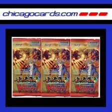 3X Cardfight Vanguard Onslaught of Dragon Souls Booster Pack ENGLISH Edition 5cd