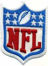 Toppa ricamata patch termoadesiva logo NFL National Football League cm. 8 x 5,8
