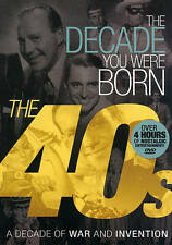 The Decade You Were Born: 1940s (DVD) A Decade of WAR and INVENTION   NEW