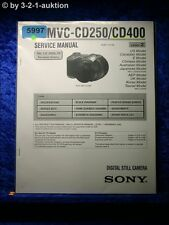 Sony Service Manual MVC CD250 /CD400 Digital Still Camera (#5997)