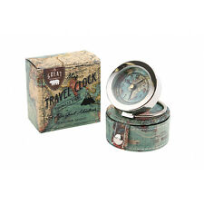 The Great Outdoors Vintage Map Travel Alarm Clock