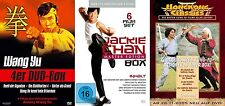 14 Filme KUNG FU Paket WANG YU Jackie Chan CHEN SING Eastern DVD Collection Neu