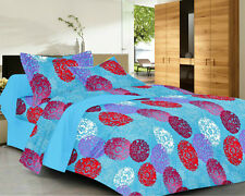 Always Plus Printed Double Bed Sheet | (1 Bedsheet With 2 Pillow Cover (BS478)