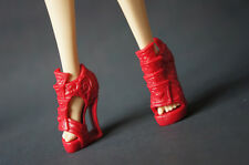 Hot Fashion Red Shoes Monster High Girl Accessories Doll Creat a Monster New 38#