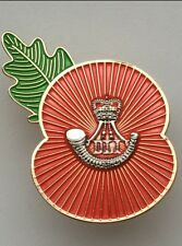 Durham Light Infantry Regimental Poppy Pins